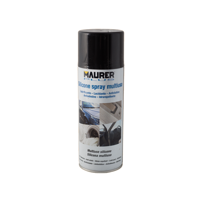 LUBRIFICANTE SPRAY AL SILICONE MAURER PLUS 400ML MULTIUSO