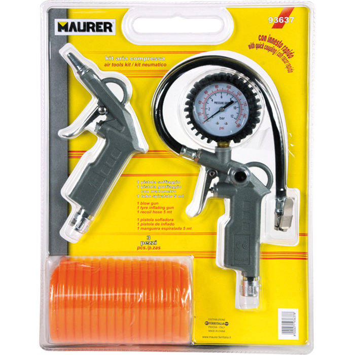 ACCESSORI COMPRESSORE KIT 3PZ MAURER