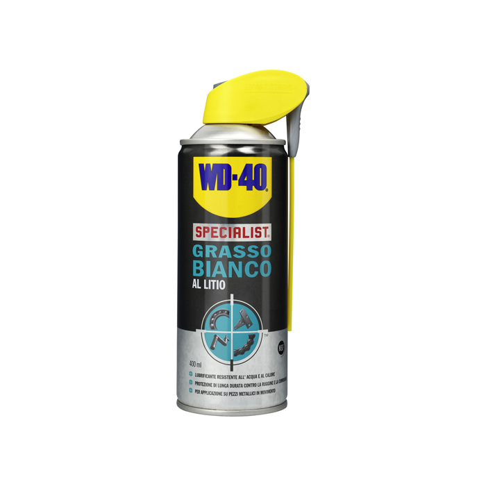 GRASSO BIANCO AL LITIO SPRAY WD40 SPECIALIST 400ML