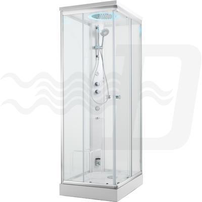 Cabina Doccia Multifunzione 70x100.Cabina Doccia Multifunzione Autoportante Mod Kamet Ice Trade S R L